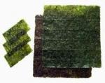 Alga Nori en láminas